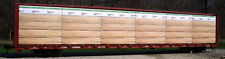 "N Scale: ""Weyerhaeuser v.2"" lumber load for Red Caboose & Mtl centerbeam Car"