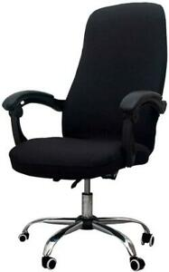 Computer Chair Slipcovers Office Chair Cover Universal Stretch Chair Cove Black