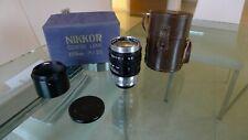 "Nikon Nikkor ""Nippon Kogaku"" Leica L-39 Rangefinder Lens, 10.5cm f/2.5 (105mm)"