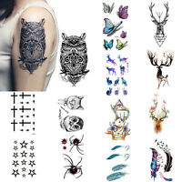 32 Styles Sexy Removable  Sleeve Waterproof Temporary Tattoo Body Art Sticker SE