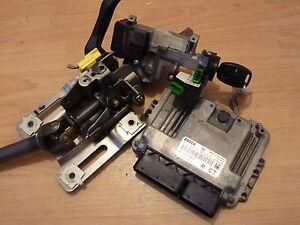 HONDA CR-V CRV MK2 2005-2007 2.2 CTDI  LOCKSET+ ECU 0281012131 + TRANSPONDER KEY