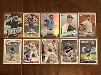 David Price - Tampa Bay Rays - 10 Baseball Card Lot - No Duplicates