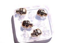 Clear Silicone Jewelry Casting DIY Jewelry Mold Skull Size 20x15mm, 8 Pc. (Z-43)