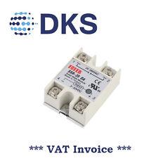 Solid State Relay Module SSR-25DA 25A /250V 3-32V DC Input 24-380VAC Out 000001