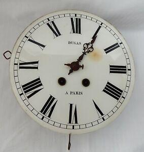 Uhrwerk von Regulator Ochsenaugen Uhr Glaszifferblatt mit Werk Brocot Hemmung