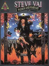 Steve Vai Passion and Warfare Learn to Play Pop Rock Guitar TAB Music Book