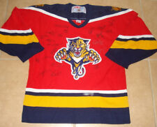 2011 FLORIDA PANTHERS TEAM SIGNED JERSEY (W/ PROOF!)
