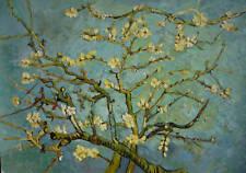 Van Gogh Almendras clásico óleo pintura 30x20 no cartel.