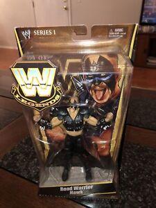 WWE Mattel Wrestling Legends Series 1 Road Warrior Hawk Factory sealed New