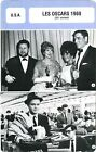 Fiche Cinéma évènements. Movie Card Events. Les Oscars 1960 (USA) 33e année