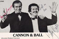 More details for cannon & ball autograph hand signed photograph original comedians tv
