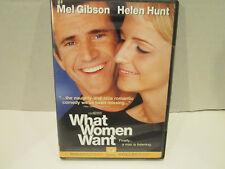 What Women Want DVD Mel Gibson Helen Hunt BRAND NEW Widescreen/sealed