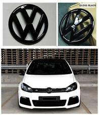 GRILLE & HATCH BADGE FOR VW VOLKSWAGEN GOLF6 MK6 GTI GOLF R Gloss BK