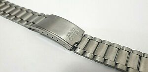 VINTAGE SEIKO 1980's WATCH STRAP 10mm, WATCH BAND BRACELET, USED.  S-24
