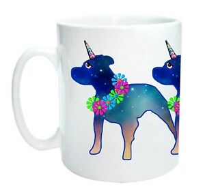 Staffordshire Bull Terrier / Unicorn Dog Mug - Stafficorn! Staffie Staffy Gift