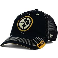 Pittsburgh Steelers '47 Brand Turner Mesh Trucker's Distressed OSFA Cap Hat