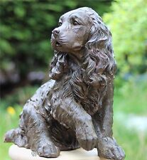 Adorable Springier Spaniel Cocker Spaniel Dog Doggy puppy Statue Garden Ornament