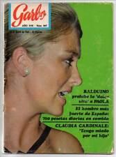 Revista Garbo Nº 847 - 28-05-1969 - Richard Antony, Paola, Claudia Cardinale