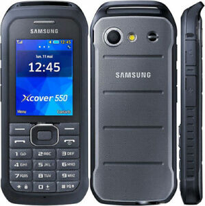 "Samsung Xcover 550 B550H B550 2.4"" Mobile Phone 3.15MP Camera Bluetooth FM radio"