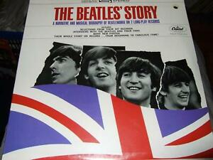 THE BEATLES STORY STILL SEALED 2LP CAPITOL USA