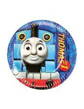8 Vaisselle Papier 18cm Petit Train Thomas Anniversaire Ps 11988
