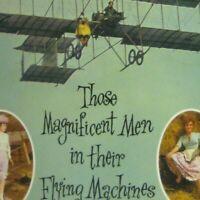 Magnificent Men Flying Program Movie Circa 1965 Whitman Sarah Miles Airplanes