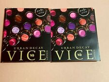 2 X Urban Decay VICE Lipstick samples,blacktalk +hitch hike +Menace +pandemonium