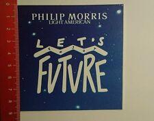 Autocollant/sticker: philip morris Light American (051016187)
