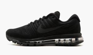 Nike Air Max 2017 Triple Black Sneakers