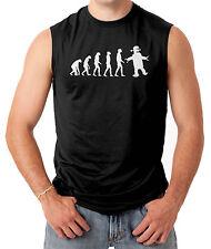 Robot Evolution Big Bang Theory Men's SLEEVELESS T-shirt