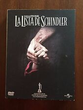 LA LISTA DE SCHINDLER - 2 DVD - EDICION ESPECIAL CASEBOOK - 187 MIN - DE CULTO