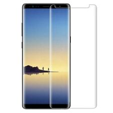 Samsung Galaxy  S8 CASE FRIENDLY 4D Clear HD Tempered Glass Screen Protector NEW