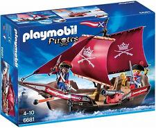 PLAYMOBIL 6681 Pirates Soldiers Patrol Boat