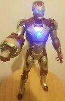 IRON MAN Talking Action Figure With Sound Effects and Repulsor Cannon Marvel