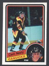 1984 o-pee-chee Hockey #327 Cam Neely Rookie Card / near mint+