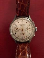 cronografo manuale Minerva 2 contatori ben funzionante