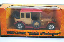 Matchbox of Yesteryear No:Y-7 ROLLS-ROYCE Car in Metallic Gold MIB