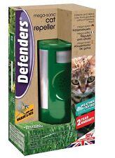 New Sonic Cat Dog Fox Repeller Mega Deterent Repellent Garden Defenders Protecto