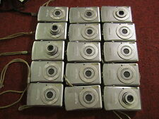 lot of 22 canon   sd630   cameras as is parts repair