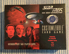 Star Trek: The Next Generation Customizable Two-Player Card Game (Klingon)