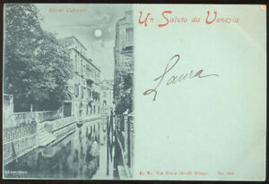 Un saluto da Venezia, canale - Venezia (Veneto) - 2123