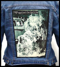 RAGE AGAINST THE MACHINE  --- Giant Backpatch Back Patch
