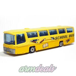 MAJORETTE Neoplan Bus N373 School Bus 1975 VTG Diecast Cars Miniaturas