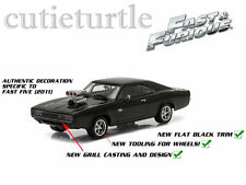 Greenlight Fast & Furious 5 (2011) Dom's 1970 Dodge Charger R/T 1:43 Black 86228