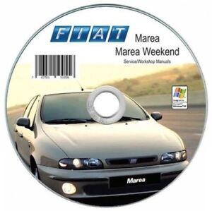 Fiat Marea manuale officina - tutte le versioni e i motori ITA!!