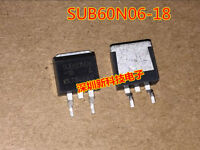 10PCS SUB60N06-18 Encapsulation:TO-263,N-Channel 60-V D-S, 175C MOSFET