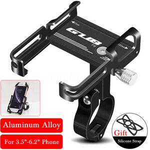 360° GUB Support Telephone Vélo Moto VTT Guidon Alliage Aluminium Universel GPS