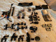 GoPro Hero 5 Black Lot/Kit, Waterproof Camera, VLOG, Selfie, 4k, HD