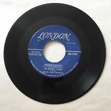 "Beverly Sisters Greensleeves / I'll See You In My Dreams 7"" 45 rpm London VG"