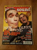 ROCK SOUND MAGAZINE ( 41 ) OCT 2002 NEW FOUND GLORY TAPROOT GLASSJAW BRMC